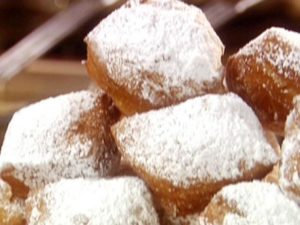 beignets in the French Quarter