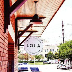 Lola restaurant in Covington, LA